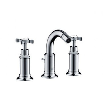 Axor - Montreux - Taps - Bidet Mixers - Brushed Nickel