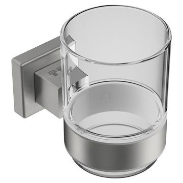 Bathroom Butler - 8500 Series - Bathroom Accessories - Tumbler/Toothbrush Holders - Brushed Stainless Steel