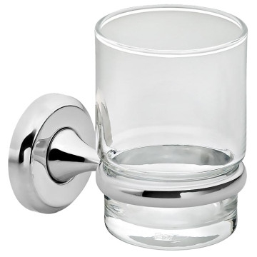 Liquid Red - LR2100 - Bathroom Accessories - Tumbler/Toothbrush Holders - Chrome