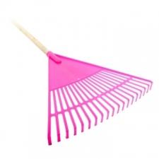 Academy Brushware - General Brushware - Garden Tools & Accessories - Rakes - Neon Pink