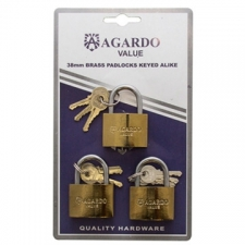 Araf Industries - Safety & Security - Padlocks - Brass