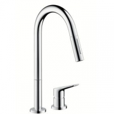 Axor - Citterio M - Taps - Sink Mixers - Stainless Steel Optic