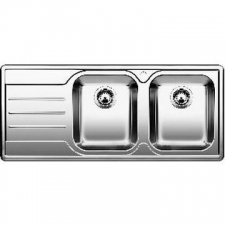 Blanco - Median 8 S - Sinks - Drop-In - Stainless Steel Satin Polish