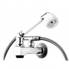 Cobra (Taps & Mixers) - Alpine - Showers - Hand Shower Sets - Chrome/White