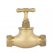 Cobra (Taps & Mixers) - Standard Brass - Taps - Stop Taps - Brass