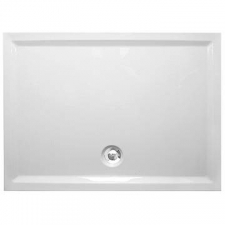 Plexicor (Sanitaryware) - Tassa - Showers - Shower Trays - White