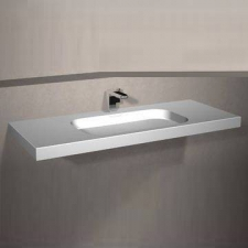 Dado Creations - Integrated - Basins - Vanity - Pearl White