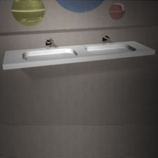 Dado Creations - Integrated - Basins - Vanity - Gloss White