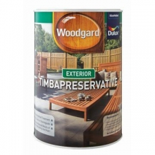 Dulux - Woodguard Timbapreservative - Paint - Woodcare - Dark Oak