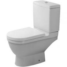 Duravit - Starck 3 - Toilets - Close-Coupled - White Alpin