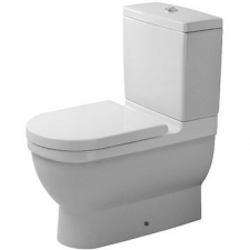 Duravit - Starck 3 - Toilets - Close-Coupled - White