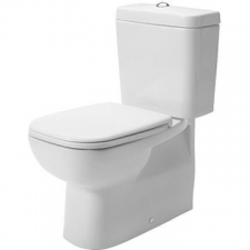 Duravit - D-Code - Toilets - Close-Coupled - White Alpin