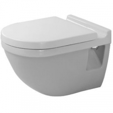 Duravit - Starck 3 - Toilets - Wall-Hung - White Alpin