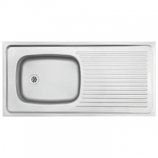 Franke (Kitchen Systems) - Trendline - Sinks - Sit-On - Stainless Steel