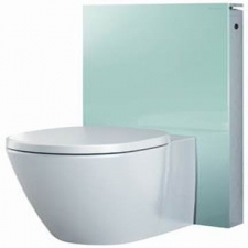 Geberit - Monolith - Toilets - Monoliths - Mint Glass