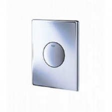 Grohe - Skate - Actuator Plates - Single Flush - Chrome