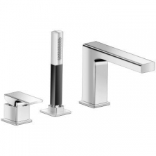 Kohler - Strayt - Wastes, Traps & Overflows - Bath Fillers - Polished Chrome