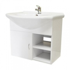 Casso - Pemba - Bathroom Furniture - Basin Cabinets - High Gloss White