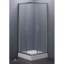 Finestra - Corner Entry - Showers - Doors - Silver/Clear