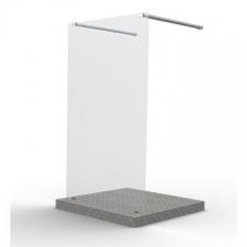 Finestra - Prism - Showers - Shower Screens & Enclosures - Clear Glass / Bright Chrome