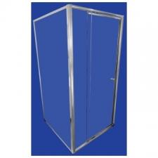 Finestra - Telescopic - Showers - Doors - Silver