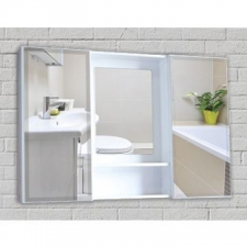 Styleline - D5 - Bathroom Furniture - Mirror Cabinets - Mahogany