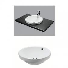 Vaal Sanitaryware - Jade Art - Basins - Drop-In - White