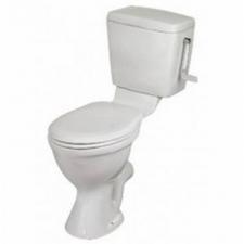 Vaal Sanitaryware - Pearl Paraplegic Suite with Seat - Toilets - Paraplegic - White