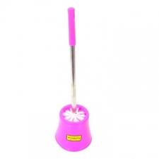 Academy Brushware - General Brushware - Bathroom Accessories - Toilet Brush Sets - Pink