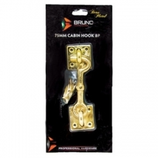 Araf Industries - Ironmongery - Cabin Hooks - Brass