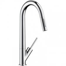 Axor - Starck - Taps - Sink Mixers - Stainless Steel Optic