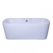 Libra (Sanitaryware) - Flow Supreme - Baths - Freestanding - White