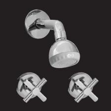 Isca (Taps & Mixers) - Lerato - Taps - Shower Sets - Chrome