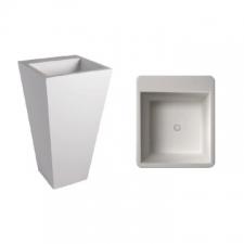 Dado Creations - Pillar - Basins - Freestanding - Gloss White