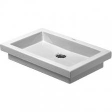 Duravit - 2nd Floor - Basins - Countertop - White Alpin