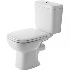 Duravit - D-Code - Toilets - Close-Coupled - White Alpin