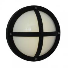 Eurolux - Bulkhead light Solo round Black