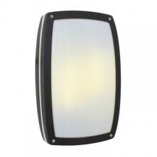 Eurolux - Bulkhead light Link rectangular plain Black