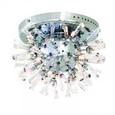 Eurolux - Ceiling Light Spikey Egyptian Crystal Light Satin Chrome