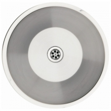Franke (Kitchen Systems) - Rondo RDX610-44 - Sinks - Prep Bowls - Stainless Steel Satin