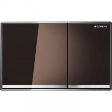 Geberit - Omega 60 - Actuator Plates - Dual Flush - Umber Glass
