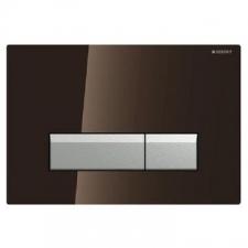 Geberit - Sigma40 - Actuator Plates - Dual Flush - Umber Glass