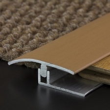 M-Trim - AL wood/lam transition cover 38mm x 6mm x 2.7m CH