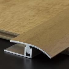 M-Trim - AL wood/lam transition cover 38mm x 6mm x 2.7m OA